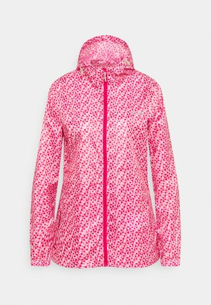 PACK IT - Waterproof jacket - pink