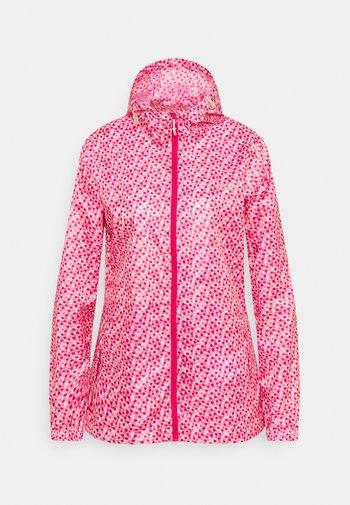 PACK IT - Waterproof jacket - pink
