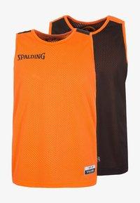 Spalding - 2 PACK - Sports shirt - orange/black - 0