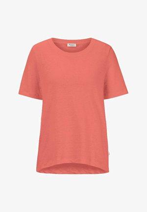 Basic T-shirt - light coral