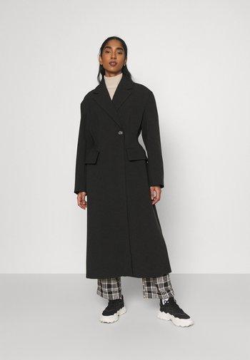 SETH COAT - Classic coat - black