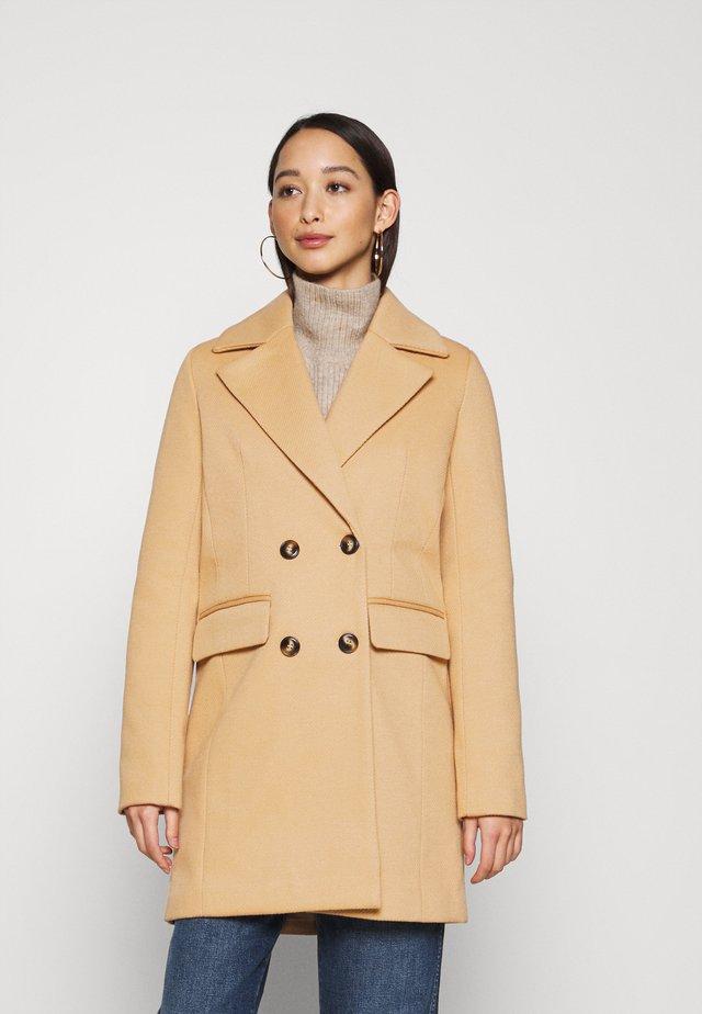 AIMEE - Zimní kabát - camel