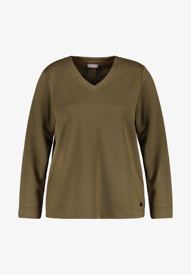T-shirt à manches longues - nutria