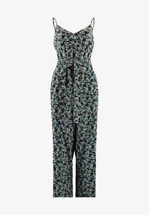 Jumpsuit - flower black