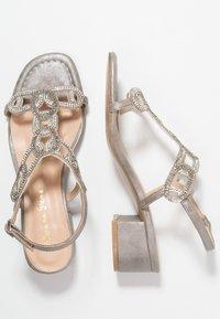 Alma en Pena - Højhælede sandaletter / Højhælede sandaler - oporto pewter - 3