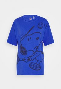 LEVI'S X PEANUTS GRAPHIC - Print T-shirt - surf blue