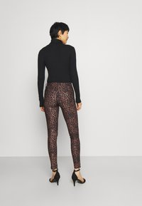 Guess - SEXY CURVE - Trousers - iconic leopard brown - 2