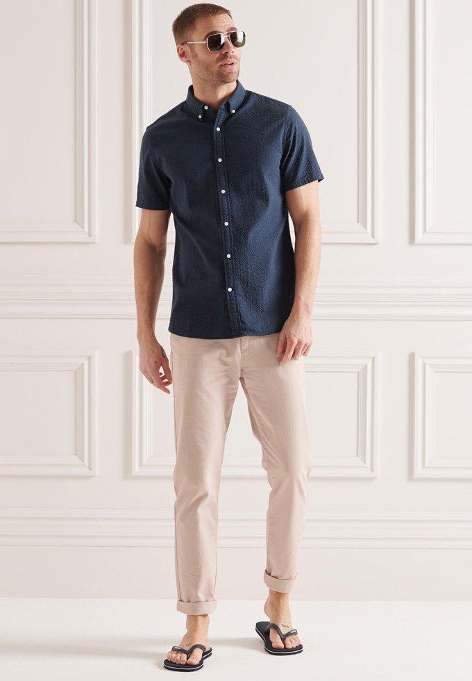 Uomo SEERSUCKER - Camicia
