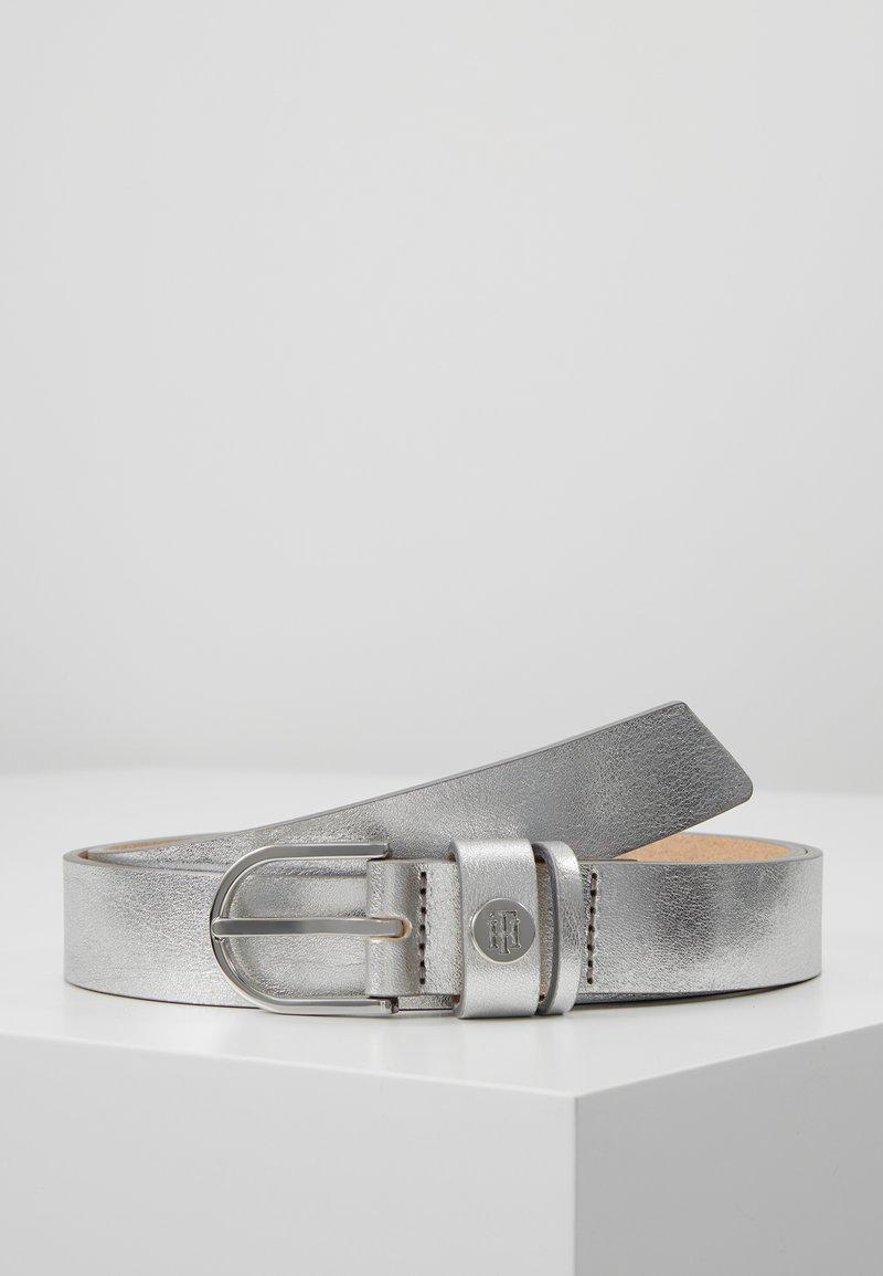 Tommy Hilfiger - CLASSIC BELT - Pásek - silver