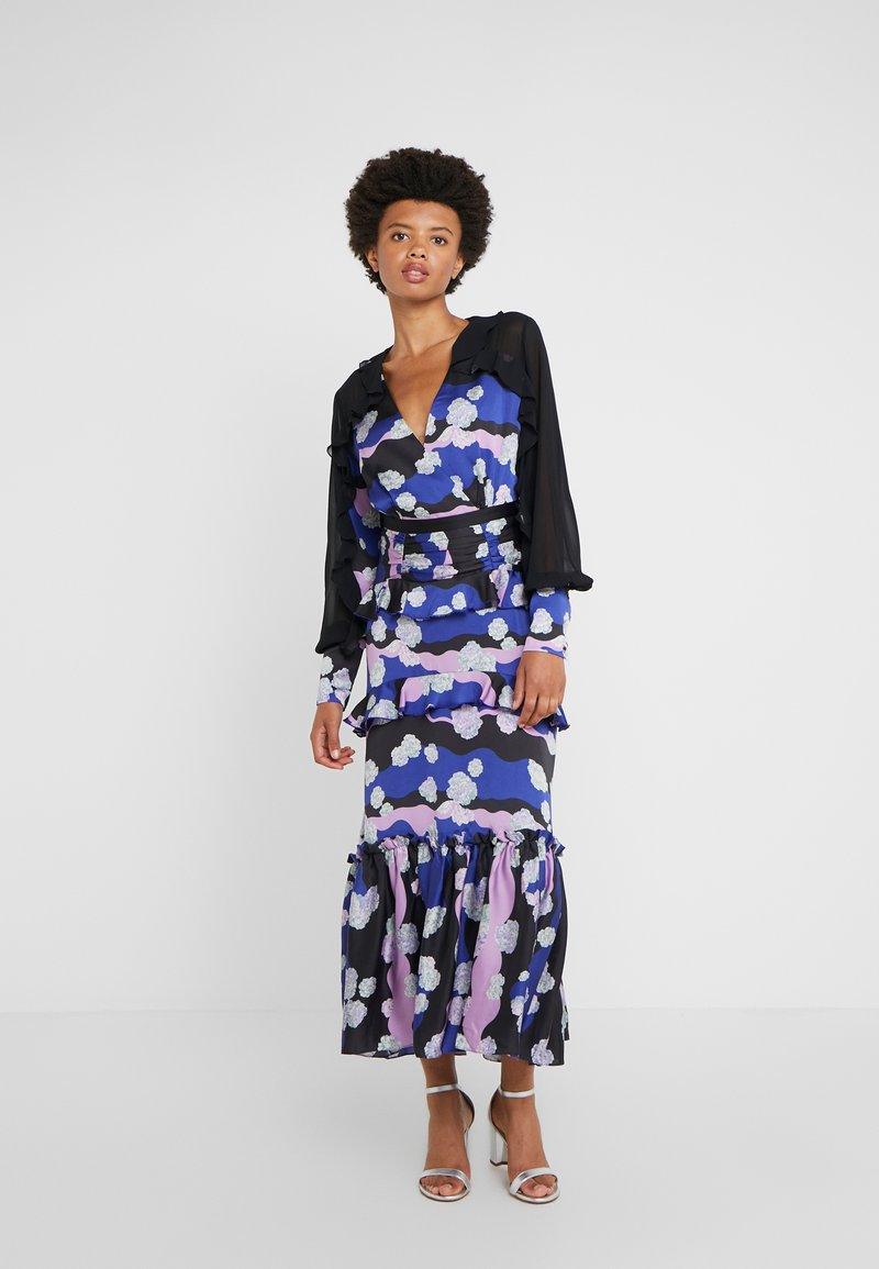 Three Floor - SURREALIST DRESS - Gallakjole - spectrum blue/violet/black