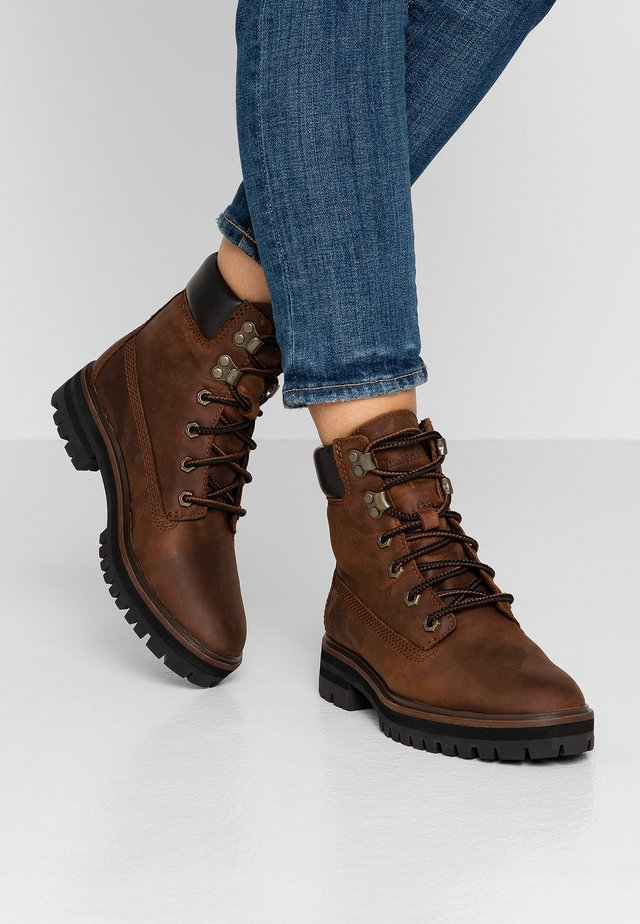 LONDON SQUARE 6IN BOOT - Bottines à lacets - mid brown