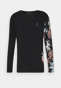 Religion - LOTUS TEE - Long sleeved top - black - 0