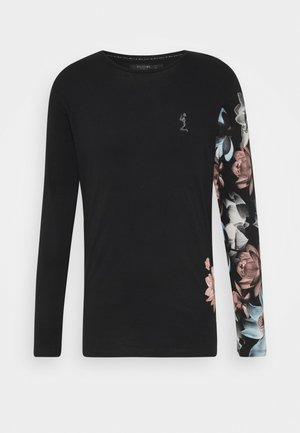 LOTUS TEE - Camiseta de manga larga - black