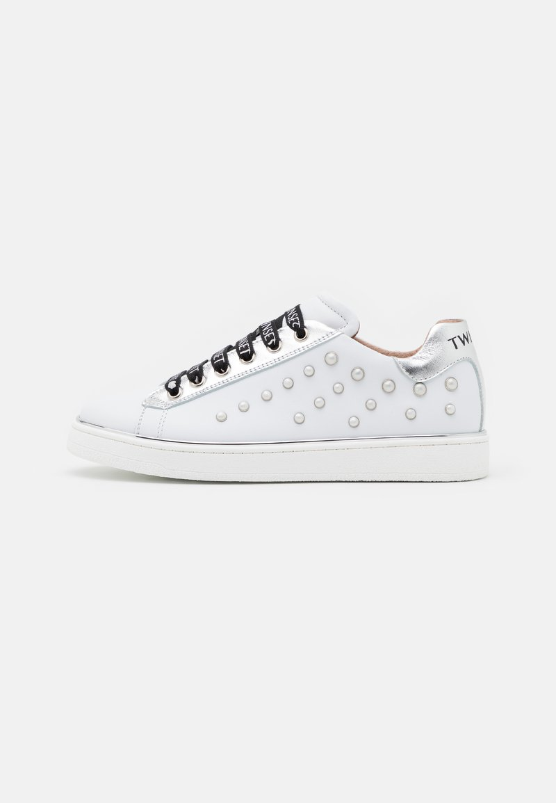 TWINSET - PEARLS - Trainers - offwhite