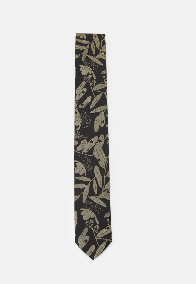 HUGO - TIE - Tie - gold-coloured