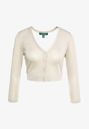 Chaqueta de punto - light gold
