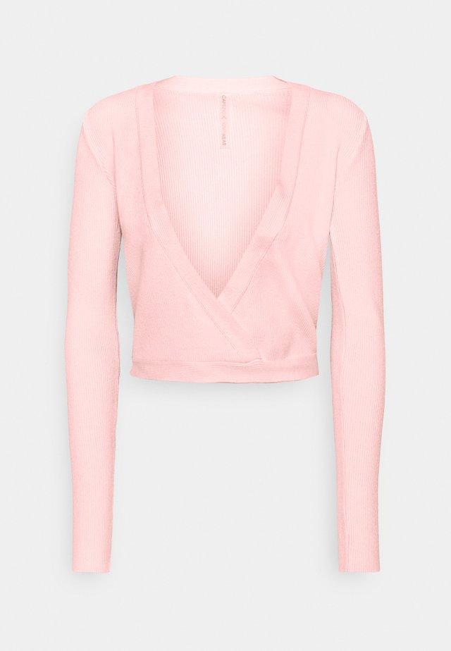 WRAP - Träningsjacka - pink