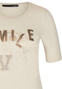 LeComte - Print T-shirt - sand - 2