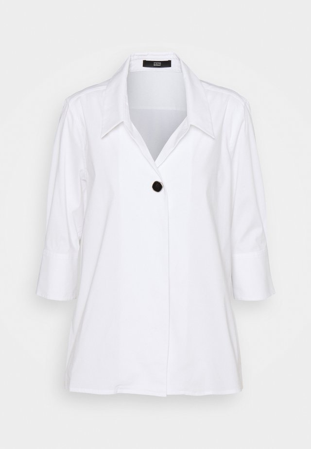 EVE LOVELY BLOUSE - Button-down blouse - white