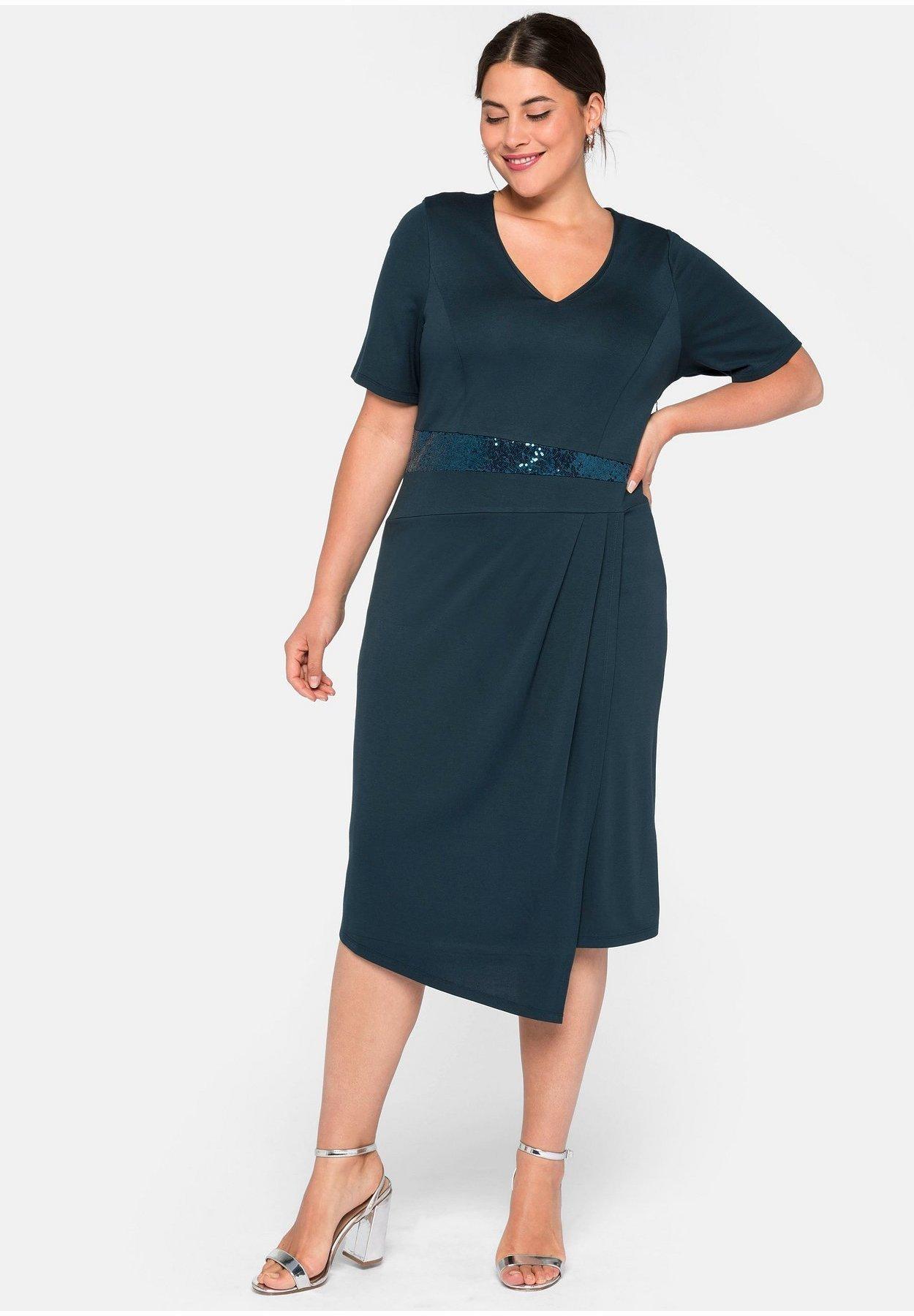 Cocktailkleid/festliches Kleid - dunkelpetrol