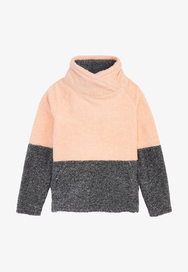 HAZEL - Sweat polaire - salmon