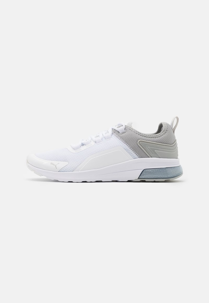 Puma - ELECTRON STREET ERA - Neutral running shoes - white/gray violet
