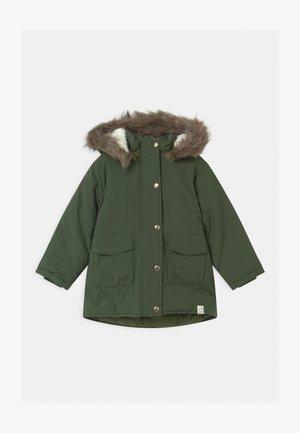 NMFMAYA - Winter coat - thyme