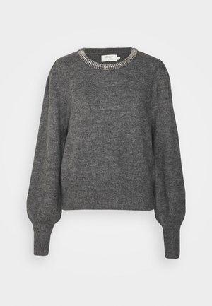 ONLALSIA  - Jumper - medium grey melange