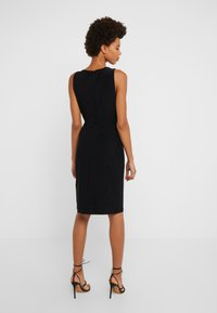 DKNY - SHEATH WITH RUCHING - Shift dress - black - 2