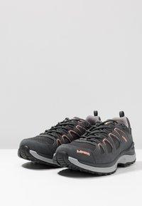 Lowa - INNOX EVO GTX - Hiking shoes - asphalt/salmon - 2