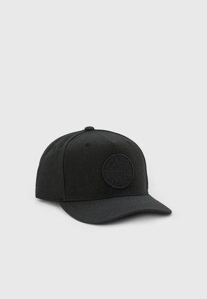 CREST SNAPBACK UNISEX - Cap - pigment black