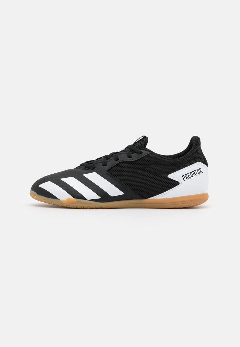 adidas Performance - PREDATOR 20.4 FOOTBALL SHOES INDOOR - Botas de fútbol sin tacos - core black/footwear white