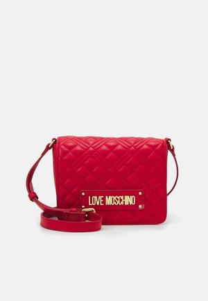 QUILTED SOFT - Sac bandoulière - rosso