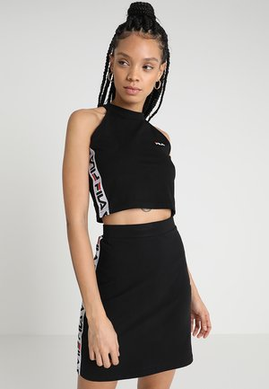 MELODY CROPPED - Top - black