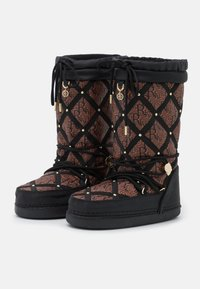 River Island - KIM QUILTED  - Winter boots - black - 2