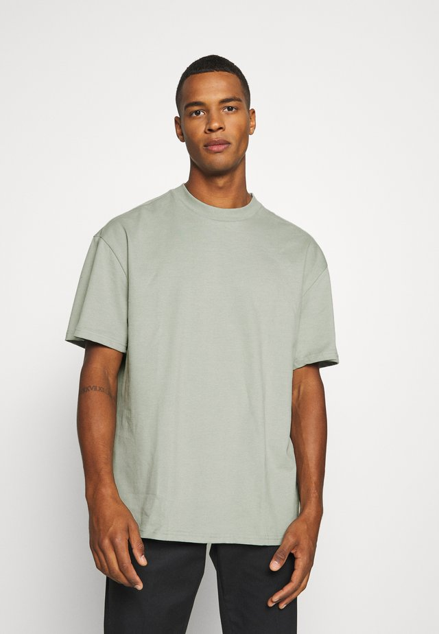GREAT - T-shirt basique - sage green
