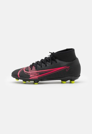 MERCURIAL 8 CLUB MG - Moulded stud football boots - black/cyber
