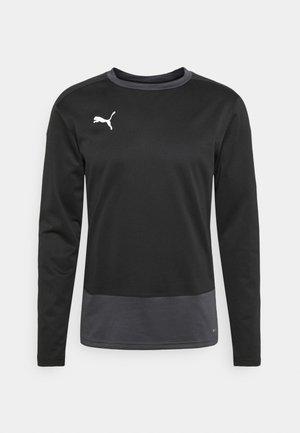 TEAMGOAL TRAINING  - Fleece jumper - black/asphalt