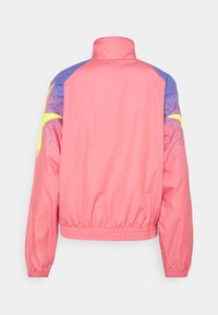 adidas Originals - TRACK - Summer jacket - hazy rose/acid yellow/joy purple - 9