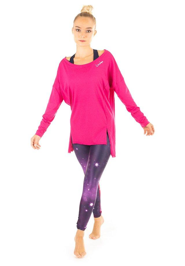 MCS003 ULTRA LIGHT - Maglietta a manica lunga - deep pink