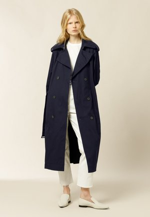 PLATANO - Trenchcoat - navy blue