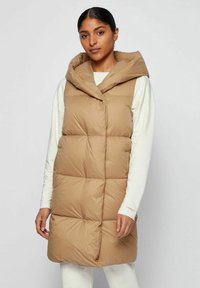 BOSS - C_PAHOLLA - Waistcoat - light brown - 0
