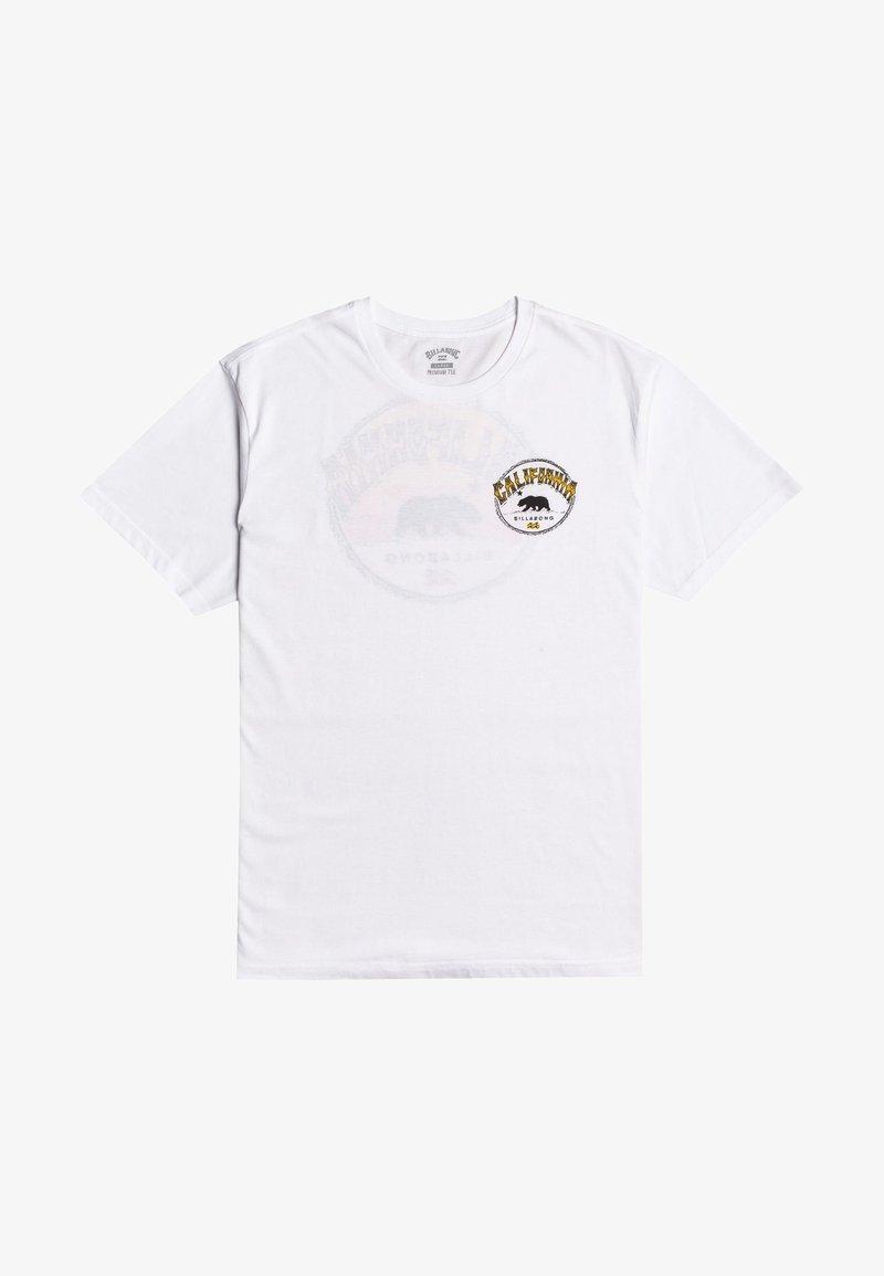 Billabong - Print T-shirt - white