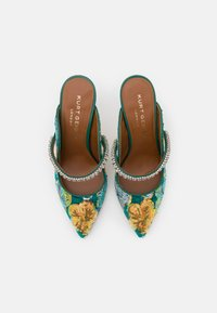 Kurt Geiger London - DUKE - Pantofle na podpatku - green - 4