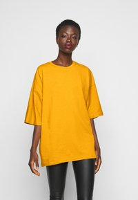 Missguided Tall - T-shirt basic - yellow - 0
