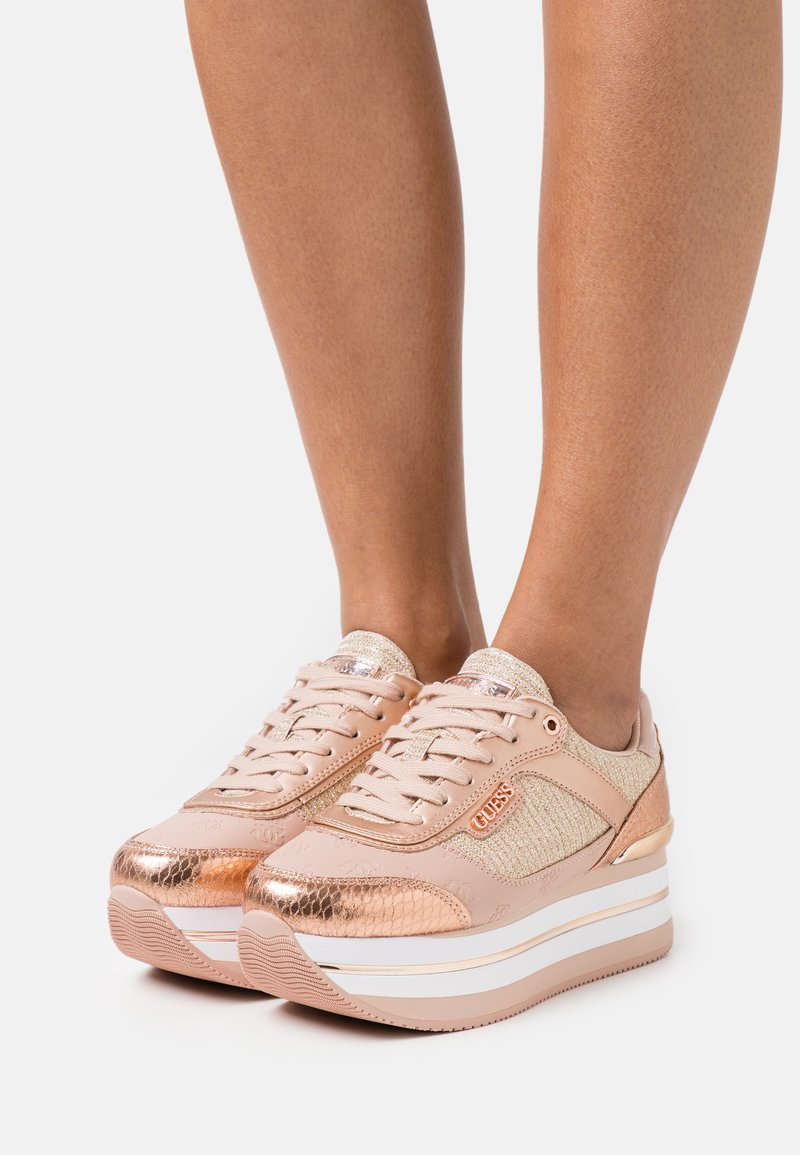 Guess - HANSIN - Trainers - blush