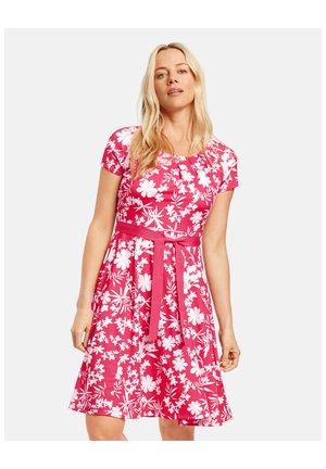 Jersey dress - paradise pink gemustert