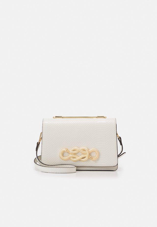 SPRIMONT - Borsa a mano - bright white/gold-coloured