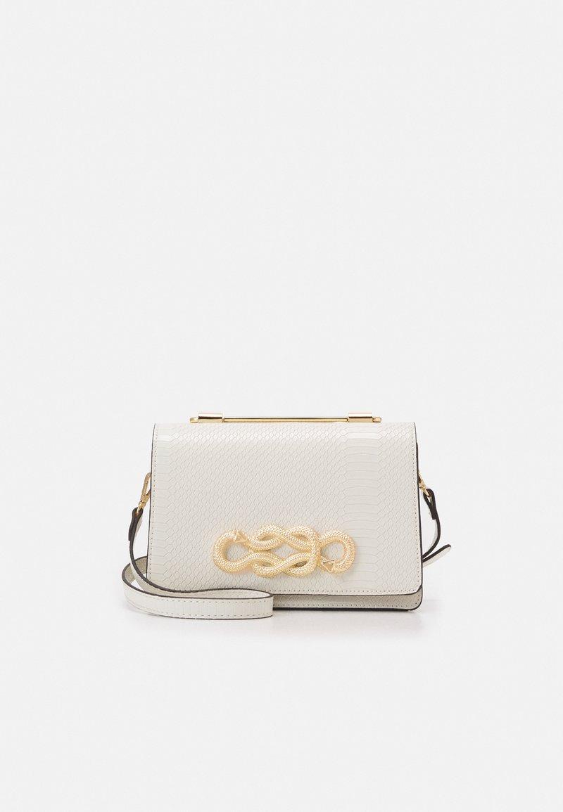 ALDO - SPRIMONT - Handbag - bright white/gold-coloured