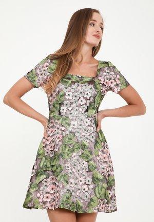 AGAVA - Cocktail dress / Party dress - rosa, grün